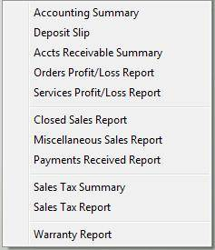 Accounting is made easy when you use Winworks AutoShop software