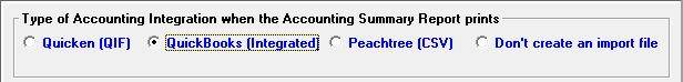 Export your accounting information to QuickBooks or Peachtree using Winworks AutoShop software.